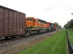 BNSF 7131 & CN 5691