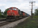 CN 2615 leads M391 westward