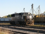 NS 6631 sitting back in the yard