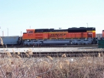 BNSF SD70ACe #9371, on eof three new units sitting in the CN yard