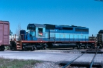 TFM 1422 as trail unit in CSX #R651-01 crosses the CN/IC diamond