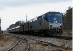 East Bound passes the Fort Eustis Railway spur