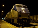 Amtrak train 95 arrives late