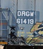 DRGW 61419 rivet detail