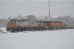 CREX 1346 in dpu servive  during a snowstorm