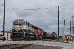 Coal train DPUs and BNSF 4659's crew change