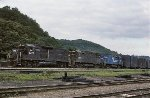 CR GP40 3227 leads C425s 2434 and 2425