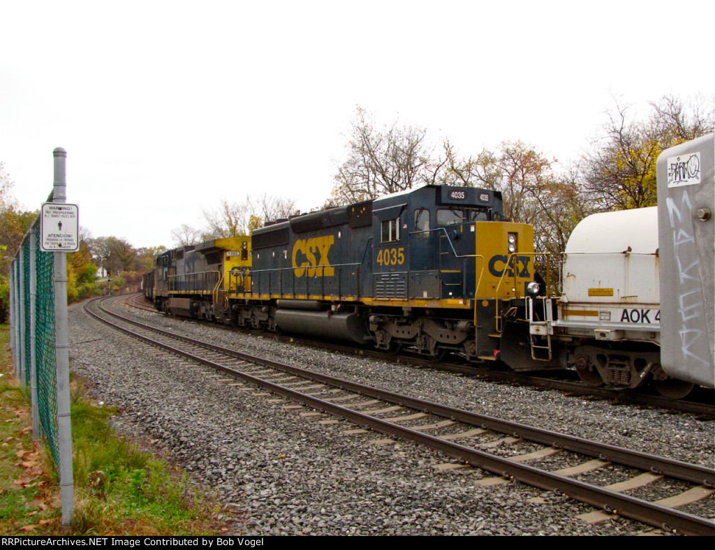 CSX 4035 and 7835