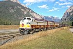 CP Heritage Train at Field, BC 14th October 2015