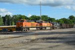 BNSF 6305  with a empty coal