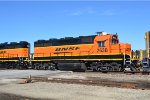 BNSF 2638  on the monett local