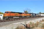 BNSF  7278 with the H-MEMKCK