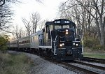 8420 with 4241 in trail pulling into Fitzwater Yard