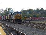 BNSF 164, BNSF 2852, CSX 5342 and UP 5363
