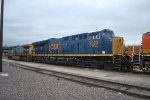 CSX 3323 Sits in the BNSF Denver Yard latched up to BNSF 8032