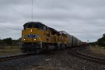 UP 8884 leads the ILBEW east