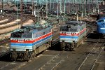 Amtrak E60s 970 and 973 at 30th Street Station