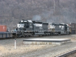 NS 3374 & 3367 pushing eastward