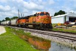 BNSF 509 and 2002