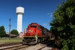 CN 5411 at the Water Tower
