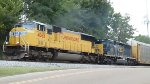 UP 4065 & CSX 4063 power NS 27W east at MP 537 - taken from video