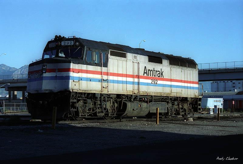 Amtrak F40PH 292