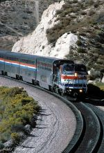 Amtrak 507 climbs toward Summit
