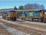CSX 7329 & CSX 3100