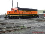 BNSF 2767 at Willbridge