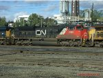 CN 8800 at Albina