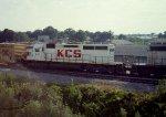 KCS alongside the future I-49