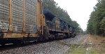 CSX ES44AH 819 and C40-8W 7311