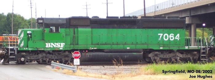 BNSF 7064
