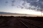 The Texas Sunset over the plains