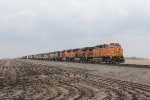 Nine units head east with a general freight