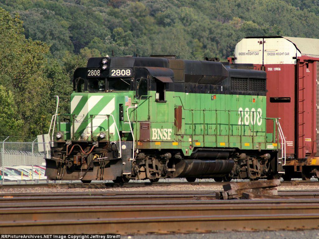 BNSF 2808