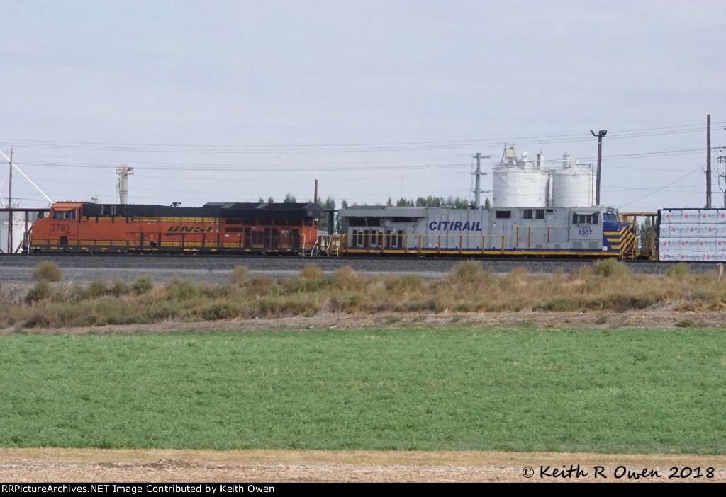 BNSF 3783