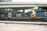 CSX GP38-2 6134, 2228, and GP40-2 6483