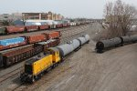 RSSX 1503 goes about its tasks with tanks cars for Unilever and Cargill