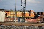 BNSF 7363 and CSXT 620084