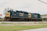 CSX GP40-2 6931 and mate 2255 take a break