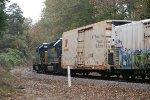 CSX GP38-2 2505 and GP40-2 6105
