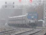 Amtrak in the Rain