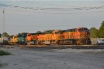 BNSF  4648 on a tied down KCKTUL