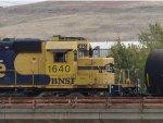 BNSF SD40-2 1640