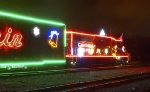 2015 CP Holiday Train at Montreal West