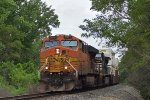 BNSF 7670 eastbound BNSF intermodal train