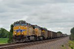 UP 5634 eastbound UP loaded coal train