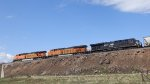 Westbound BNSF with NS