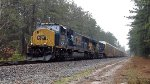CSX SD70MAC 4567 and ES40DC 5490